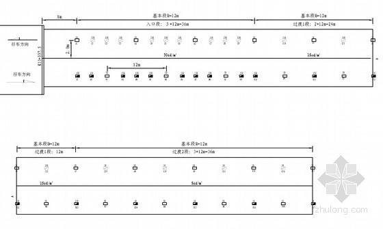 [浙江]公路隧道照明及渗漏水综合治理设计图37张(含预算)