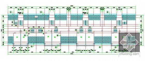 [浙江]2栋住宅楼(含地下室)建筑工程量计算及预算书(含施工图纸)-1#楼阁楼平面图.