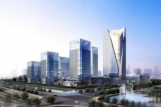 [广州]商业大厦房地产开发项目财务分析报告(全套报表总投资17亿元)