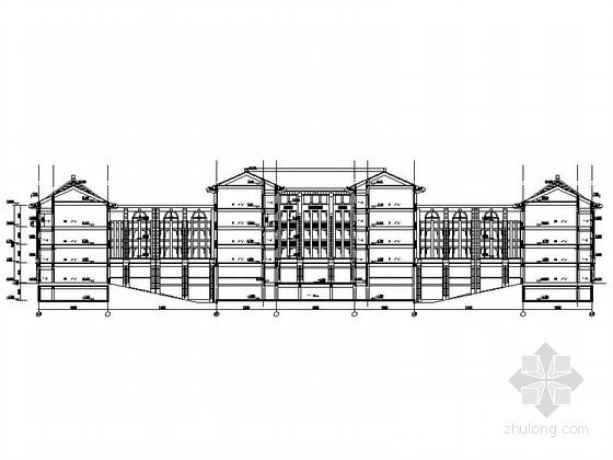 两套高校教学楼设计施工图纸
