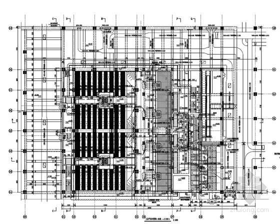 [南方]6万吨污水处理厂给排水施工图(氧化沟工艺 知名设计院)