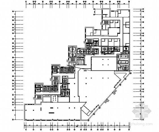 某五星级酒店桑拿区强电施工图