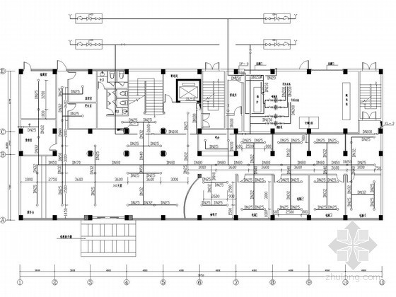 [福建]五星酒店消防整改图纸
