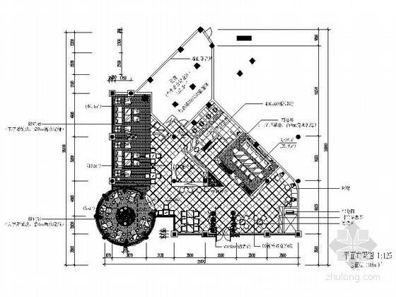 经典新中式西餐咖啡厅装修设计施工图(含效果)