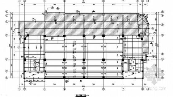 八层框架结构办公楼结构施工图(桩基础 带转换层)图片