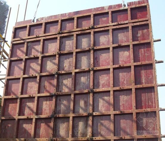 [山东]变形缝处后浇剪力墙模板支设施工工法(省级工法)