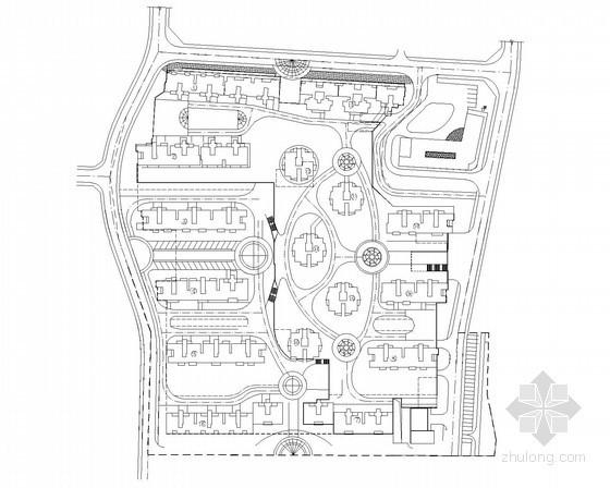 某居住小区建筑给水排水设计图纸(课程设计)