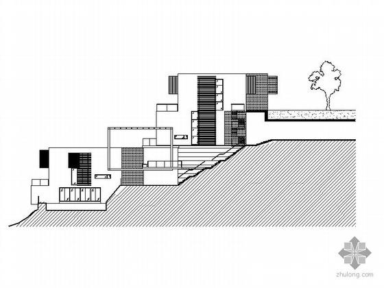 [深圳]某十七英里住宅小区建筑方案CAD图、模型照片