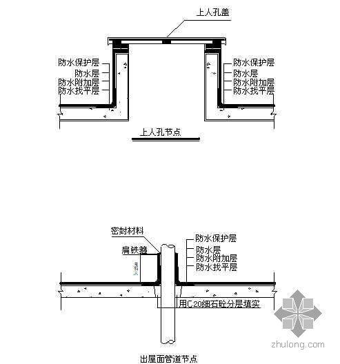 [上海]教学综合楼屋面防水施工方案(SBS改性沥青防水卷材)