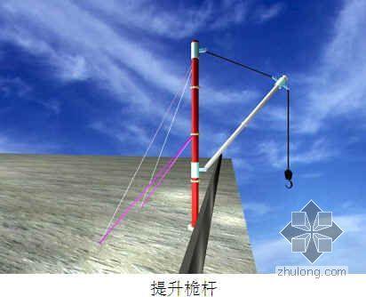 北京某屋顶游泳池改造工程钢结构安装方案(卷扬机 提升桅杆)