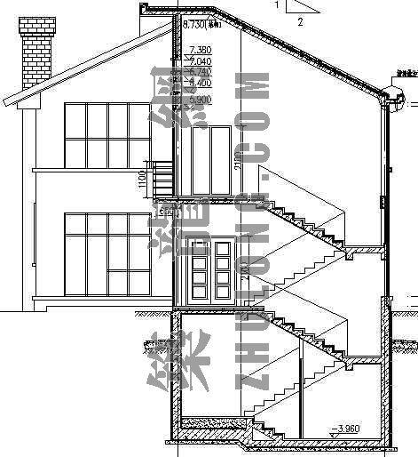 某别墅区设计方案(B)型-3