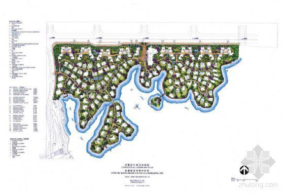 重庆知名地产香樟林概念设计方案