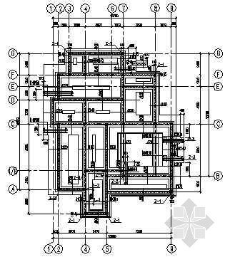 V型滤池结构图纸资料下载-某别墅(B2型)全套结构图纸