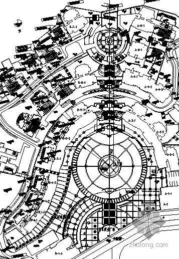 四川广场景观施工图全套