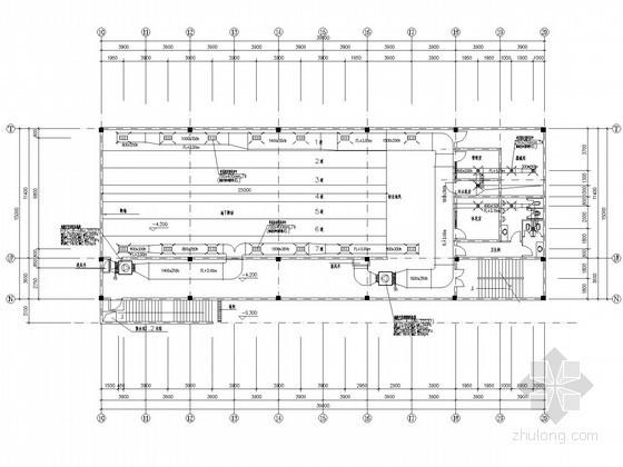 [江苏]公共建筑综合楼空调通风及防排烟系统设计施工图(数码涡旋变容量空调系统)