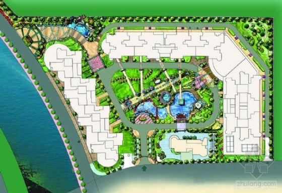 广东广州某小区环境景观设计方案