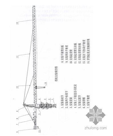 广州某住宅项目塔吊设计及安装拆除方案(QTZ80A PHC高强预应力管桩)