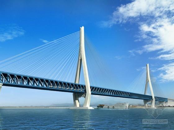 630m公铁两用斜拉桥钢梁技术总结