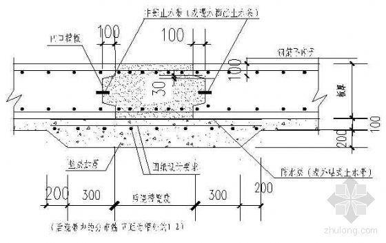 北京某综合楼工程地下室防水施工方案(SPY自粘聚合物改性沥青聚酯胎防水卷材)