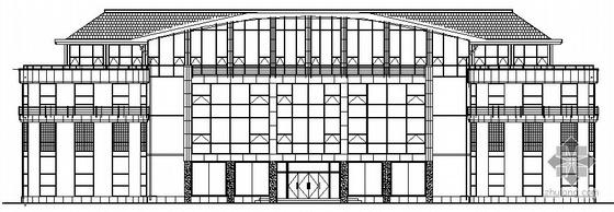 某欧式四层会所建筑方案图