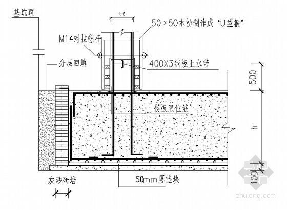 某高层住宅模板施工方案(覆膜木多层板)