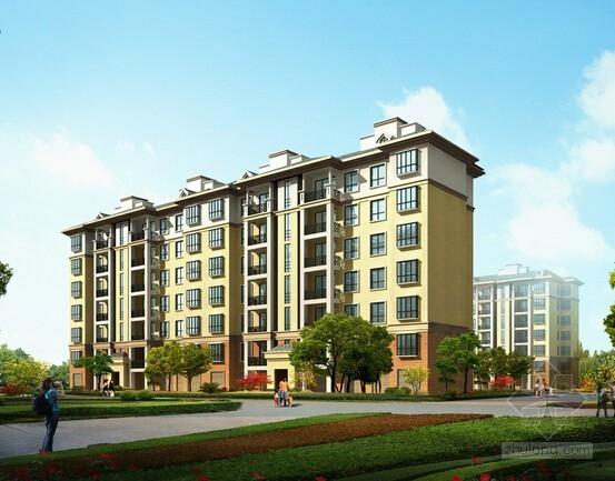 [南京]住宅楼外立面装饰工程成本测算实例