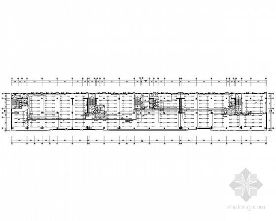八层商业办公综合建筑强电系统全套施工图