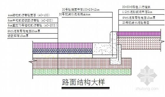 [广东]沥青混凝土道路施工组织设计(设标)