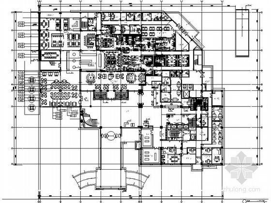 [无锡]新中式精装大酒店装修施工图(含实景)