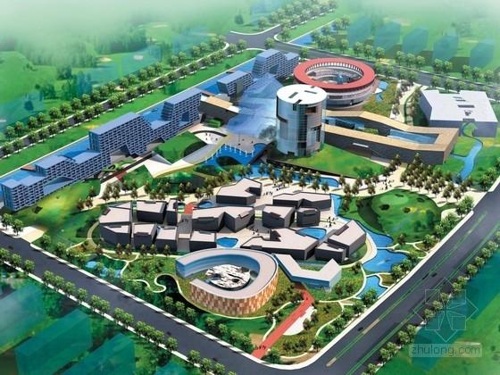 [江苏]滨江现代风格商业综合体建筑设计方案文本
