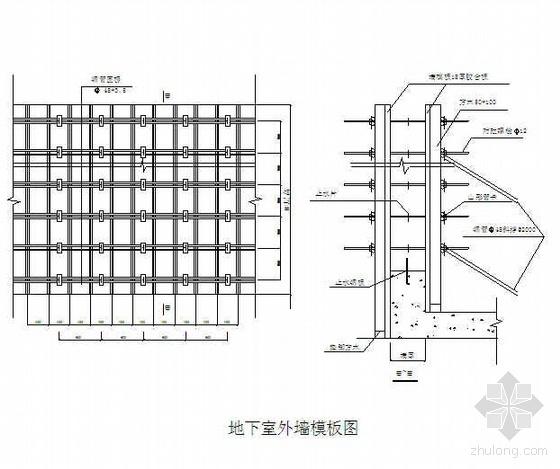 厦门某高层住宅小区地下室施工方案(附图)