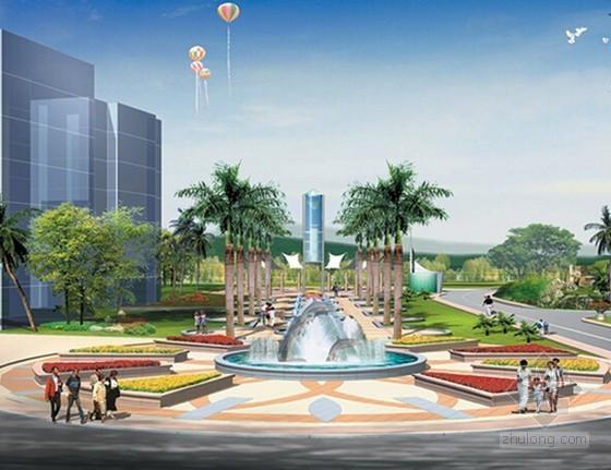 [湖南]市民中心广场地下空间建设项目工程量清单招标控制价(标底 附CAD图)