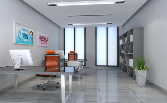 成都办公室装修 成都办公室设计-办公室布局的色彩设计图片