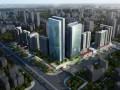 [广东]高层横向线条立面城市综合体建筑设计方案文本