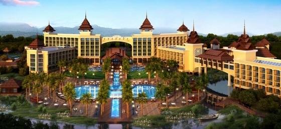 3套温泉主题度假区规划效果图