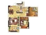 77平米混合型风格二居室