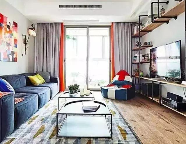 ui设计色彩搭配资料下载-室内设计色彩搭配,客厅配色干货十二套!