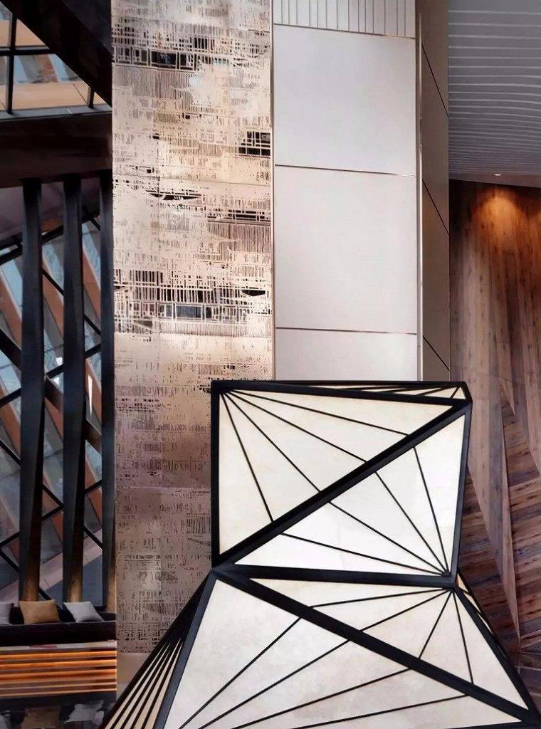 西安雍容盛大的现代君悦酒店室内实景图 (3)