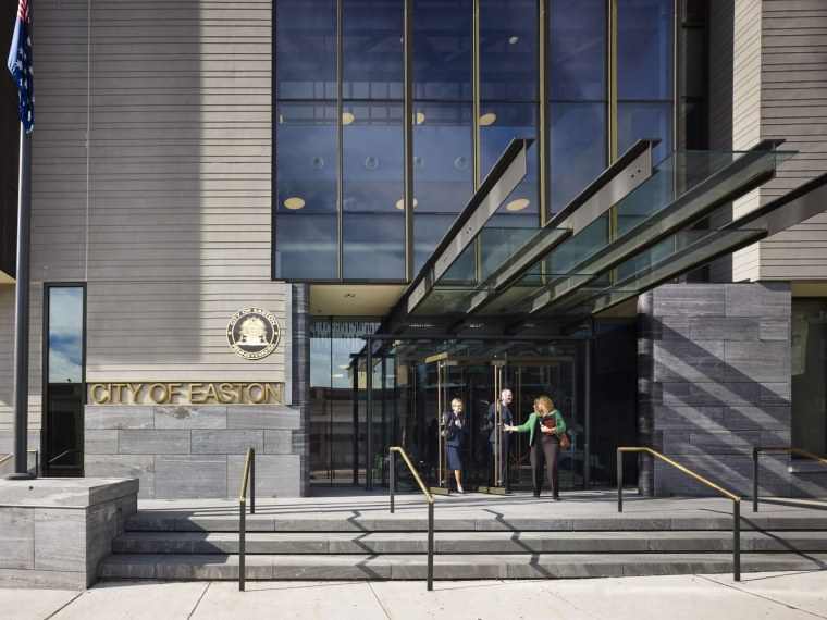 美国伊斯顿市政厅建筑-1 (3)