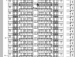 高层商主楼建筑设计方案施工图CAD