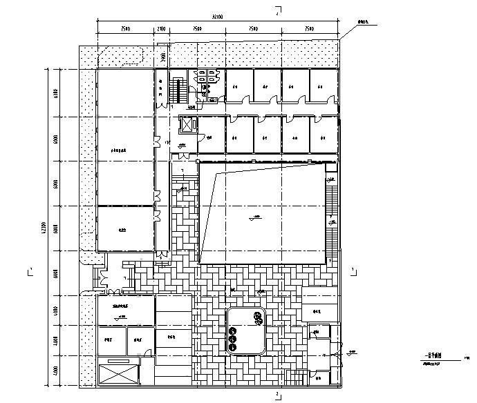 [北京]古典民居建筑方案图(平房)