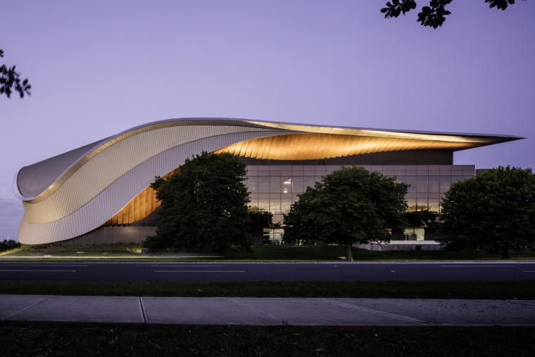 澳大利亚木曲线营造类型的文化建筑