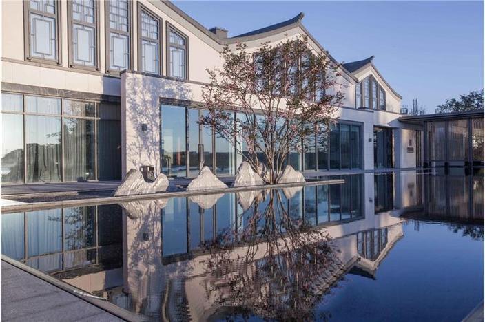 新城玺樾西塘景观