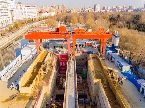 市政工程公司沈阳管廊项目部左线盾构顺利始发