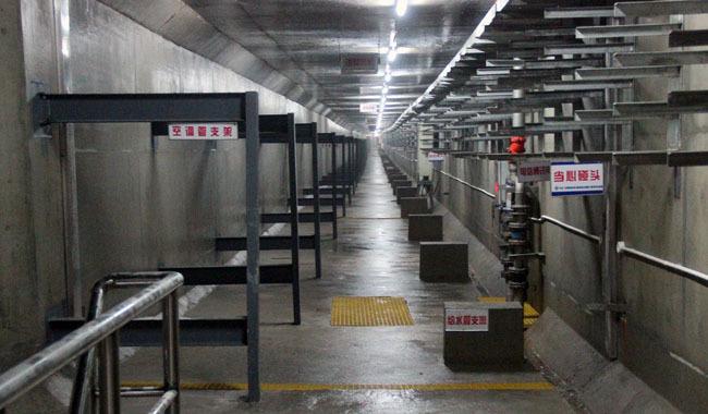 综合地下管廊的管廊根据其所收容的管线不同分类