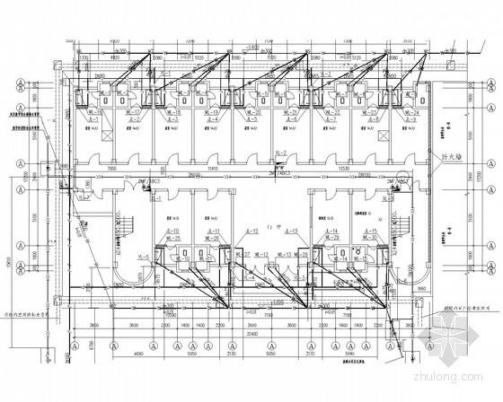 [重庆]学校宿舍楼给排水施工图