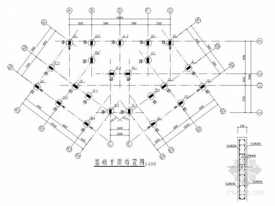 [江西]六层框架结构棚户区改造住宅结构施工图
