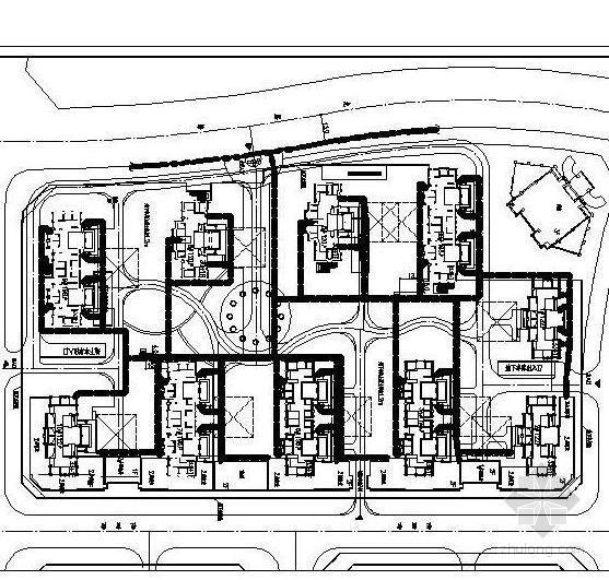 [安徽]庭院天然气管道系统设计施工图