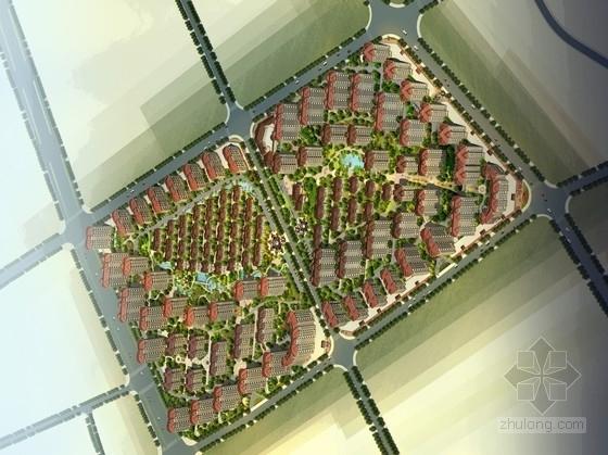[湖南]简欧风格住宅区规划及单体设计方案文本