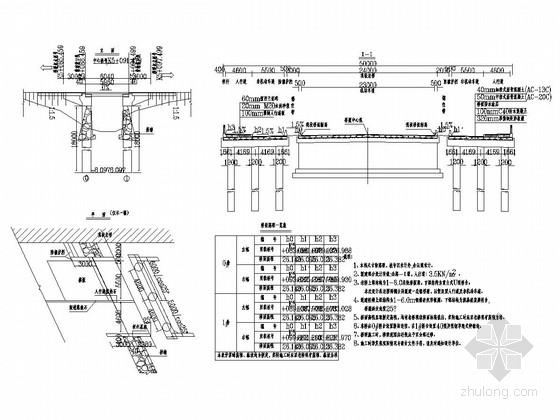 1x6m钢筋混凝土矩形板桥梁加宽设计套图(28张)